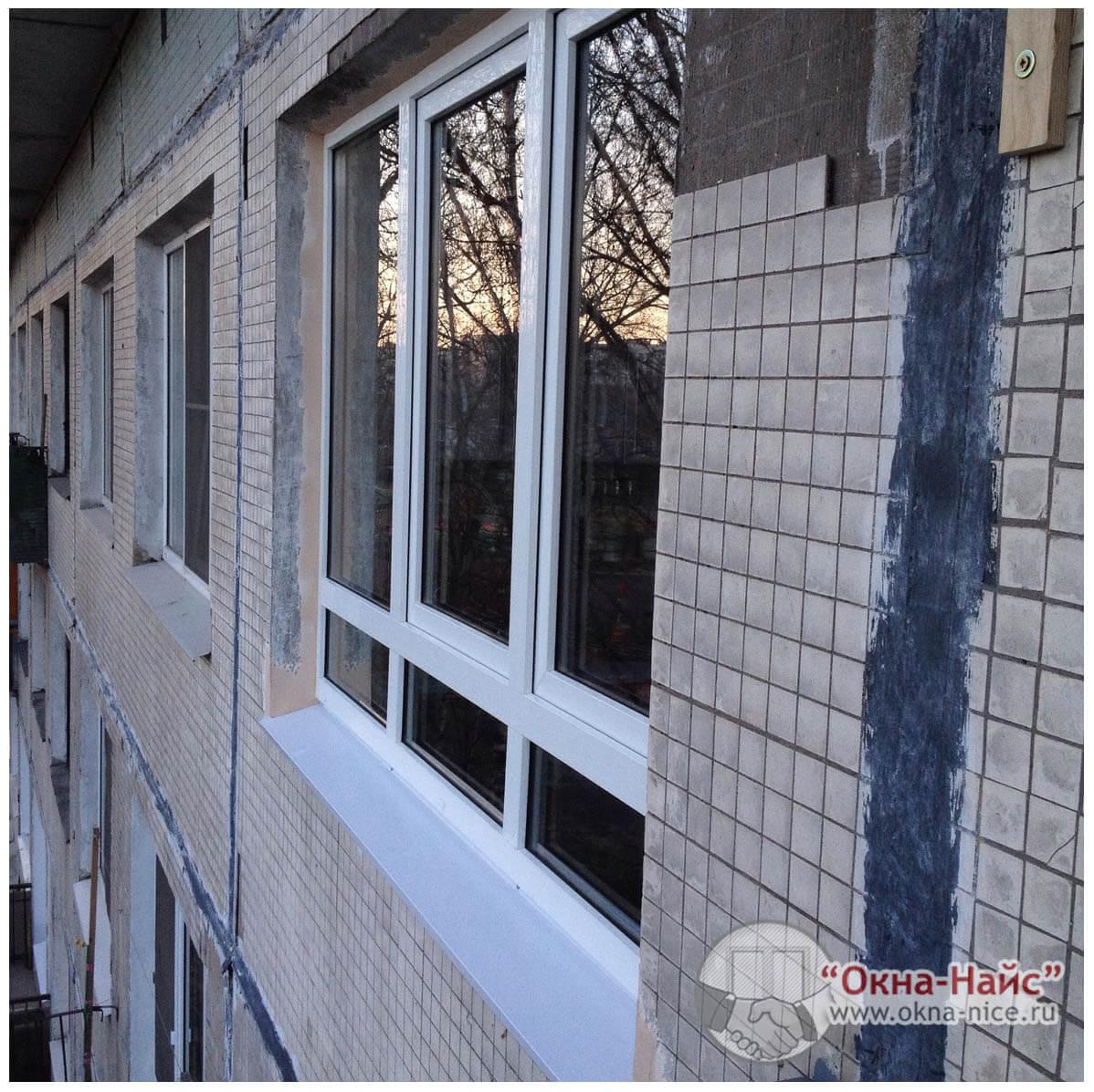 """Установить и купить пластиковые окна в панельном доме с """"окн."""